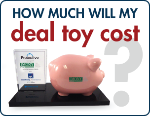 How much will my deal toy cost? | The Corporate Presence