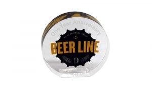 Reyes Beverage Group Beer Line Anniversary Award