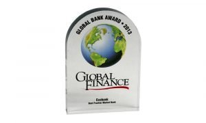 Global Finance Global Bank Award