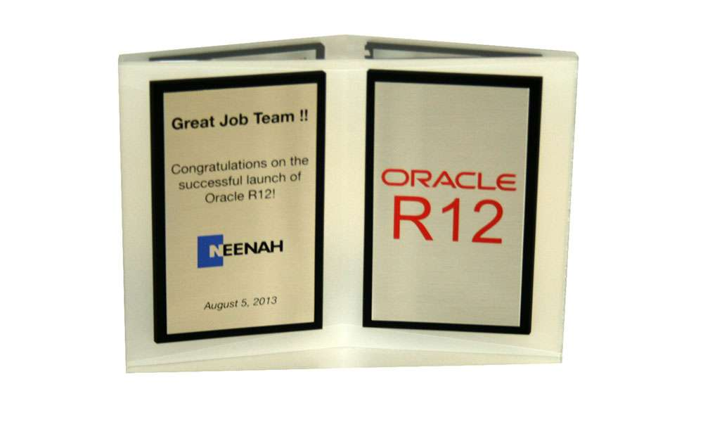 Oracle R12 Recognition Award
