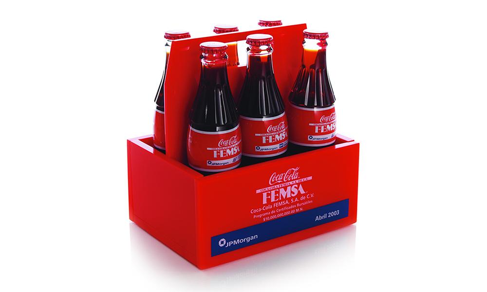 Coca Cola FEMSA Custom Lucite