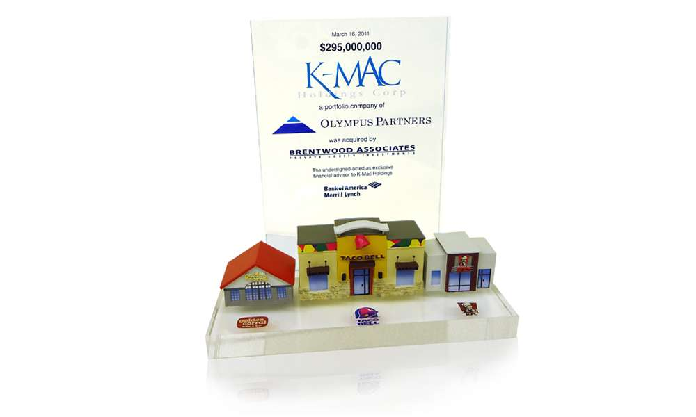 K-Mac Holdings Custom Tombstone