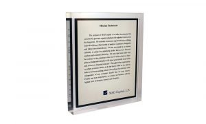 MSD Mission Statement Recognition Product