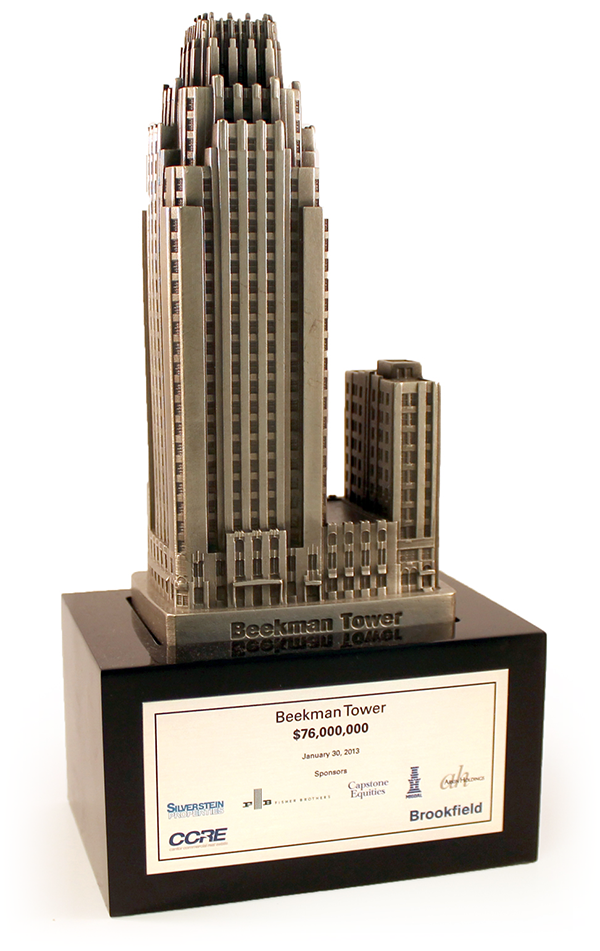 Bldg-CCRE-Beekman-Tower-lucite-dealtoy-the-corporate-presence