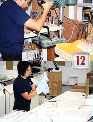 Lucite deal toys: how they are made, step 12