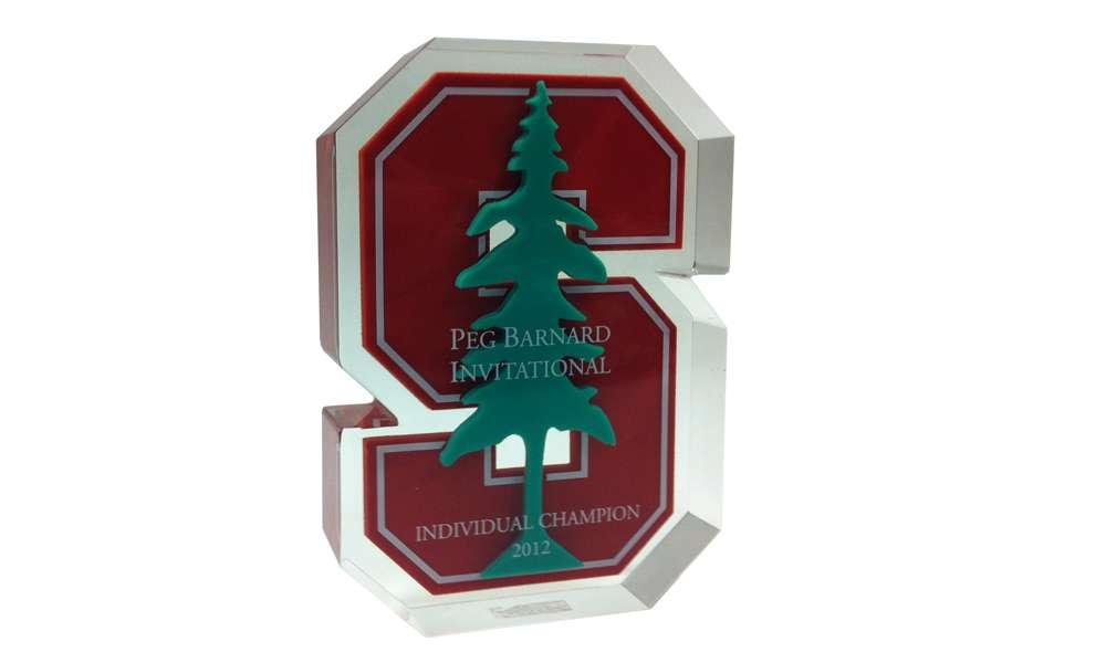 Stanford Custom Lucite Award