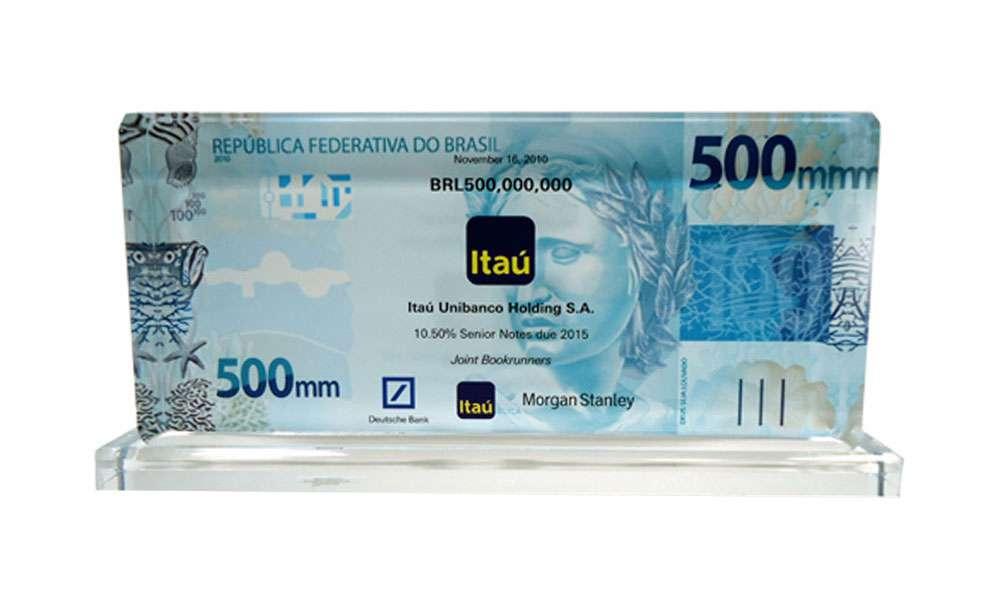 Itau Unibanco Crystal Award The Corporate Presence