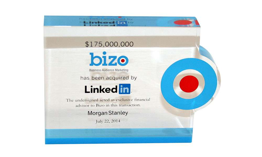 LinkedIn Deal Tombstone