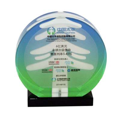 china lucite tombstone