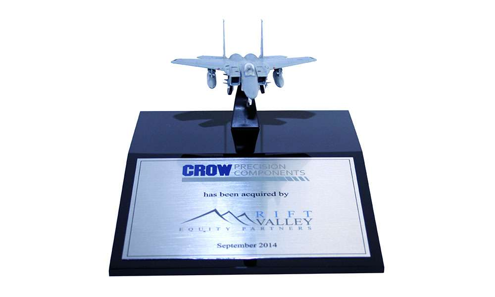 Aerospace and Defense Deal Toy - Crow Precision Components - Rift Valley Equity Partners