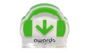 Custom Lucite Award Flume Beatport