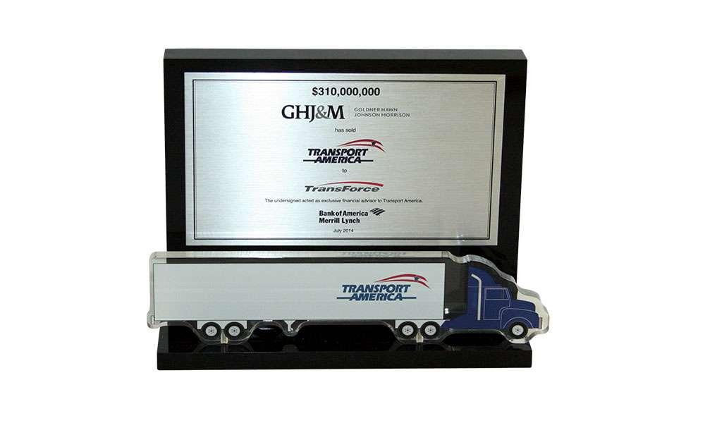 Logistics & Transportation Industry Deal Toy