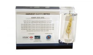 Acrylic Embedment with Wheat Stalk | Harvest | Food and Beverage