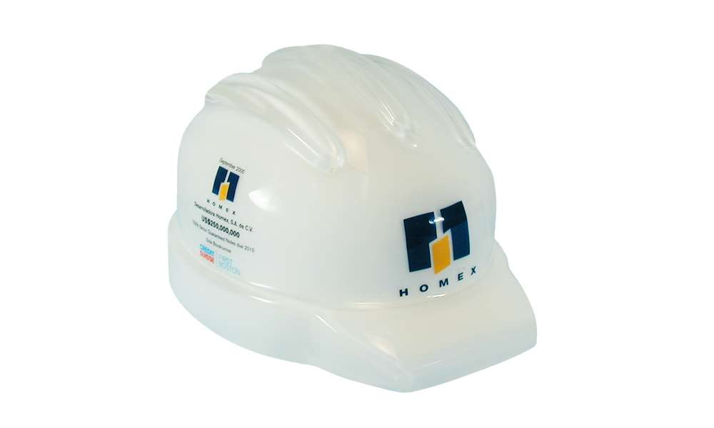 Construction Helmet-Themed Tombstone