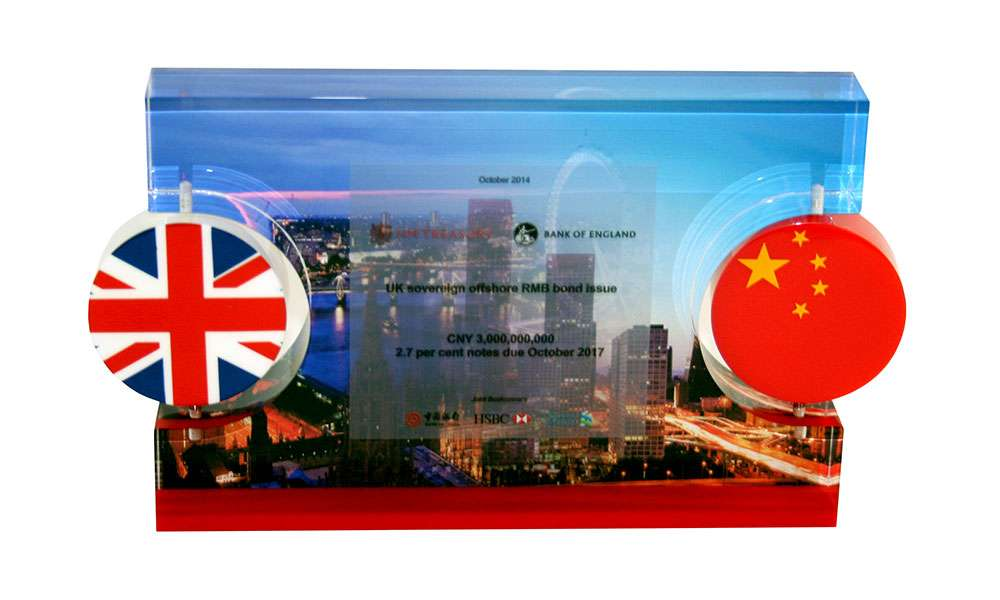 British-Chinese Cross-Border Deal Tombstone