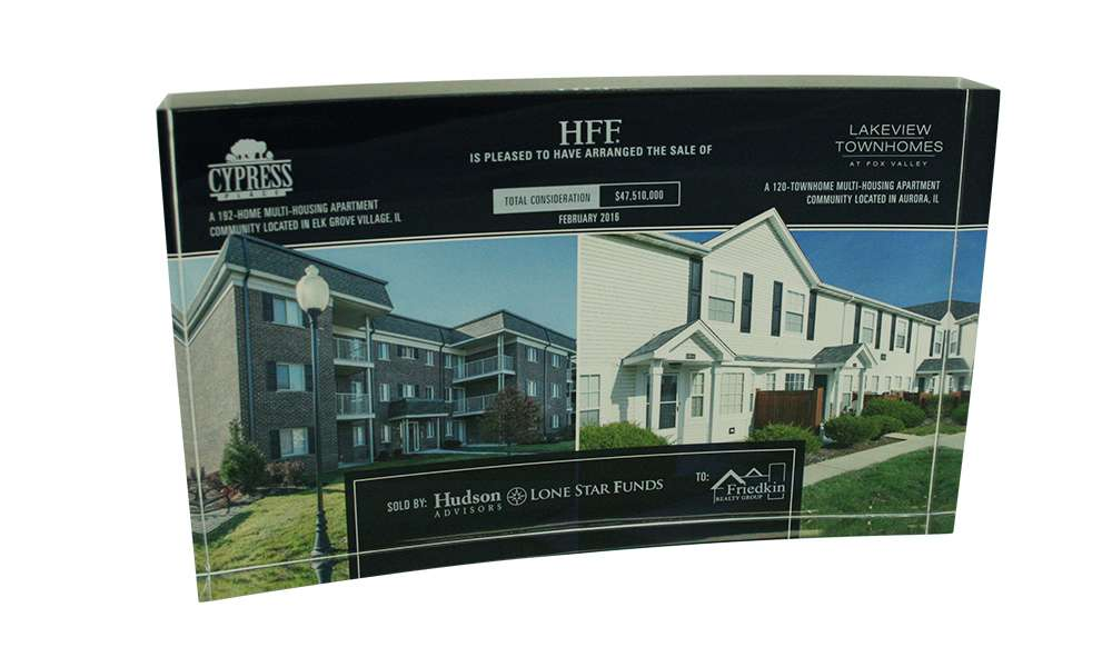 Real Estate Deal Gift Featuring Property Photo
