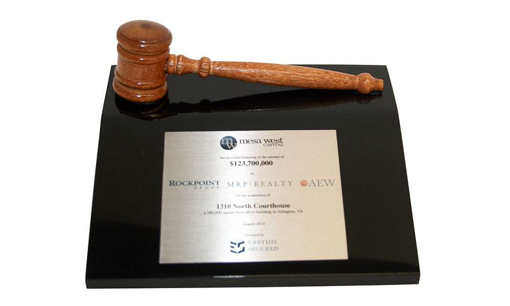 Deal Toy with Wood Gavel