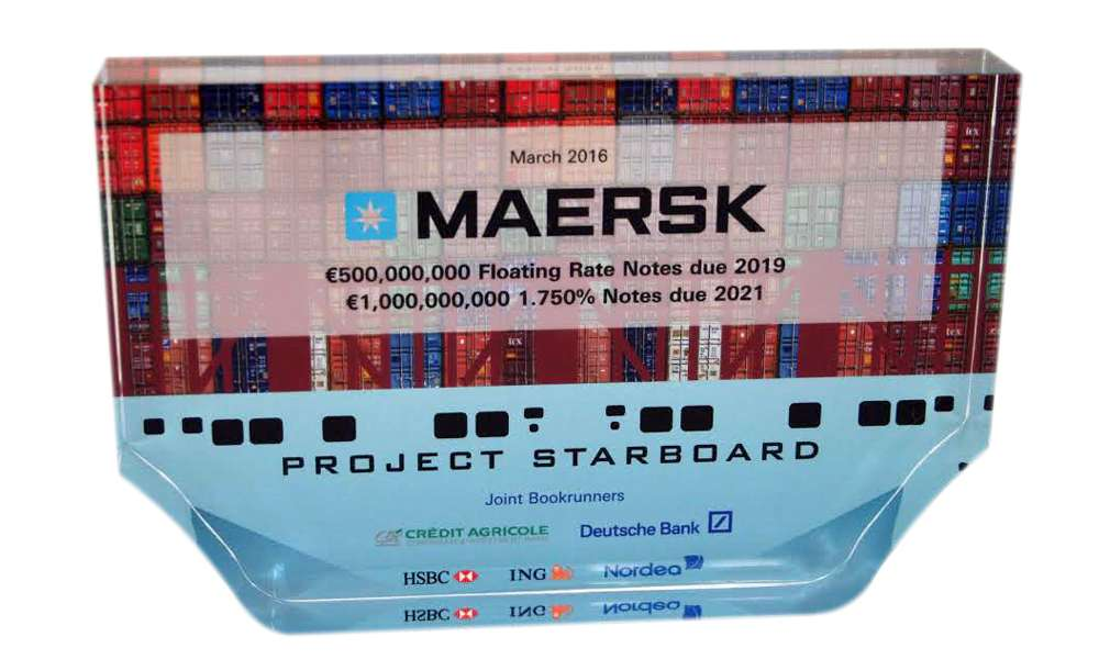 Container Shipping Financial Tombstone