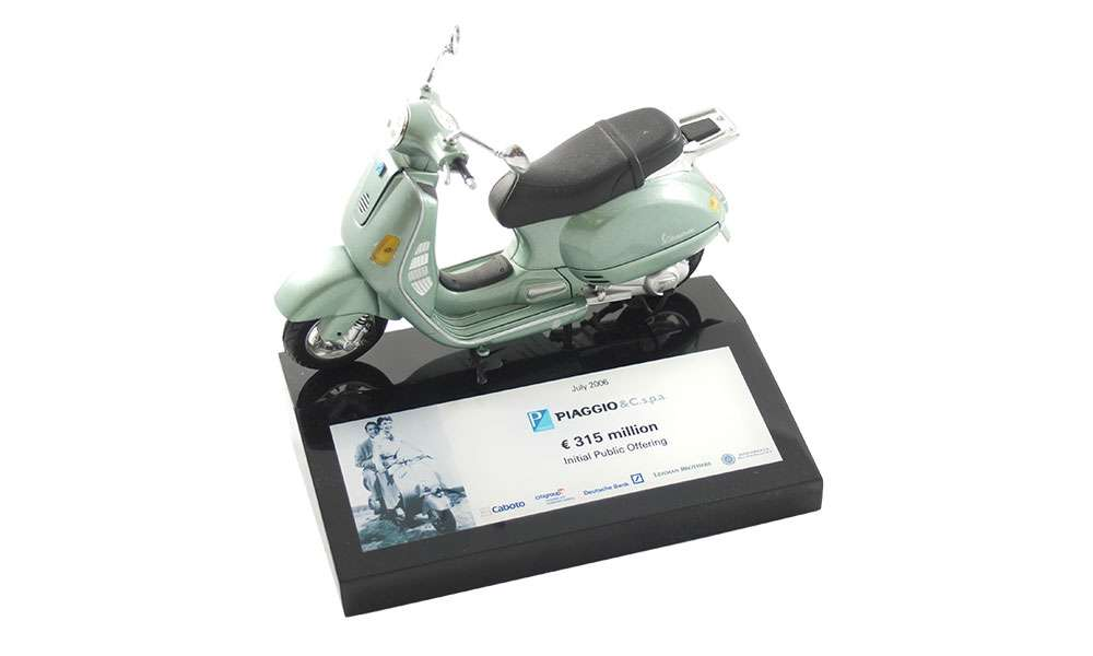 Scooter-Themed Deal Tombstone