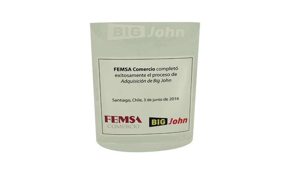 FEMSA Deal Tombstone