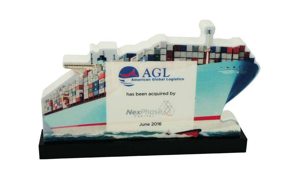 Container Ship Industry Deal Tombstone
