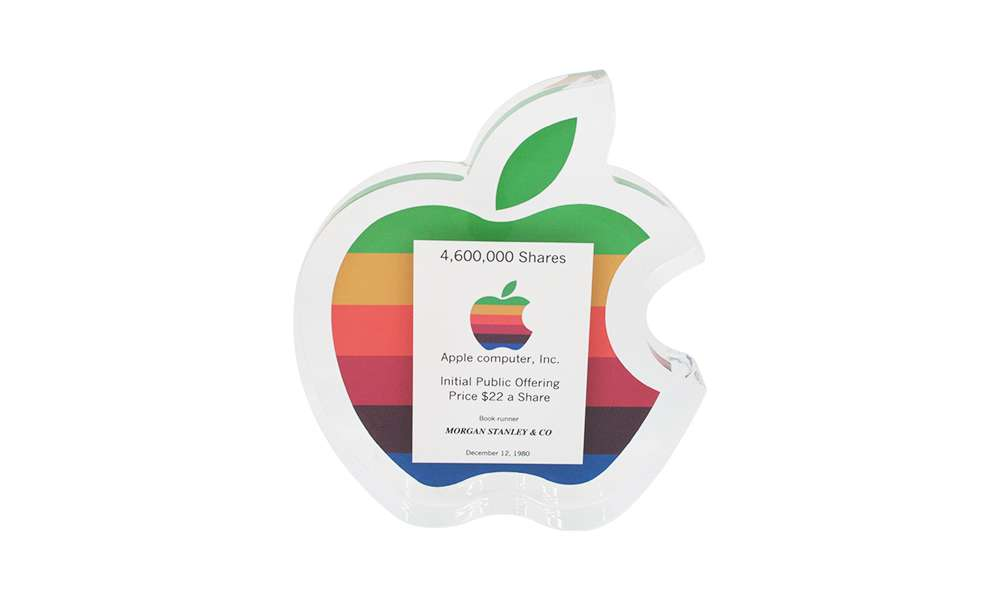 Apple IPO Deal Toy