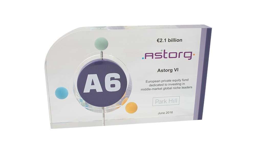 Astorg Fund Closing Commemorative