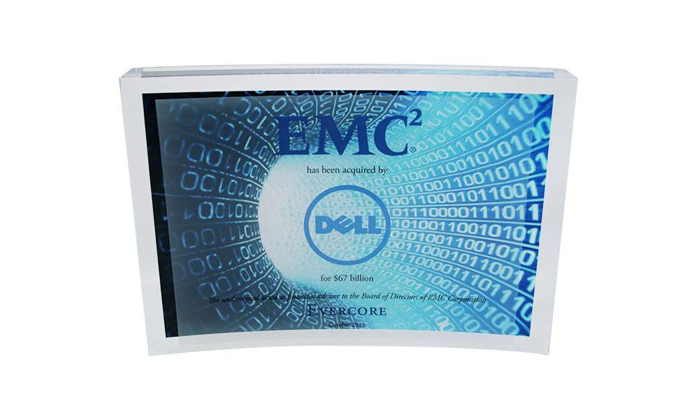 EMC-Dell Merger Deal Toy