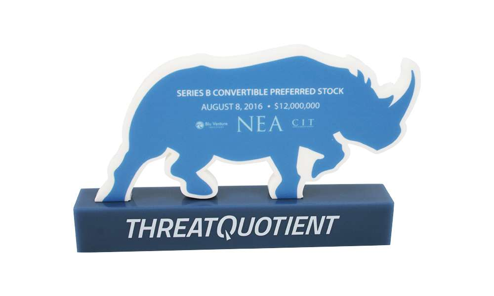 Rhino-Themed ThreatQuotient Deal Toy