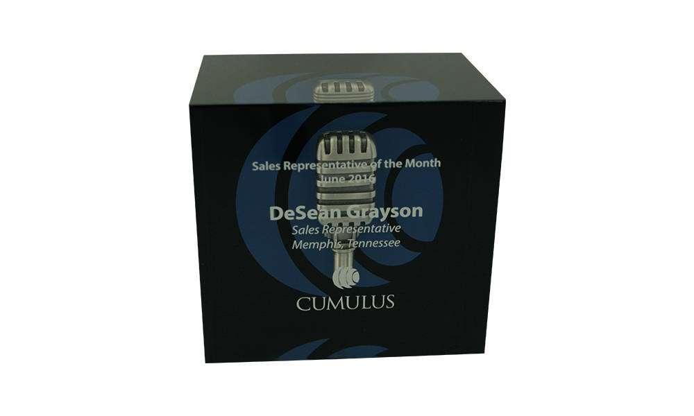 Cumulus Custom Acrylic Sales Award