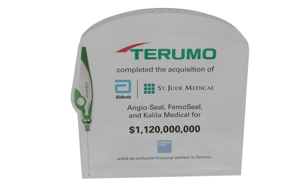 Abbott St. Jude Medical Deal Toy