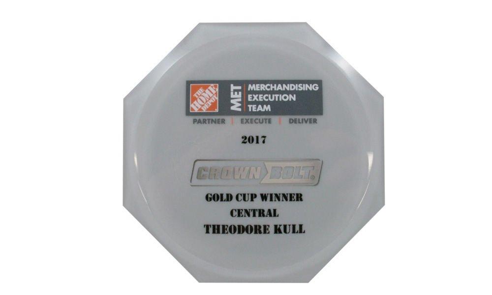 Custom Home Depot Recognition Award