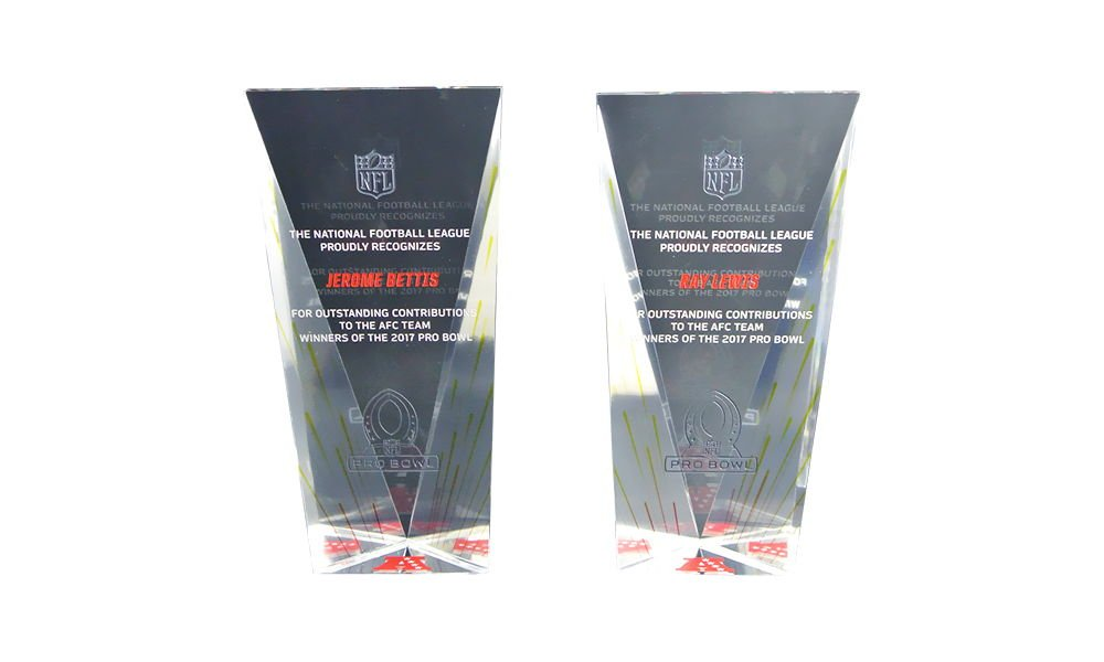 NFL Crystal Recognition Awards