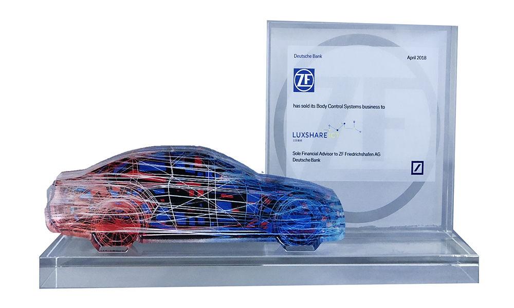 Car-Themed Crystal Deal Toy