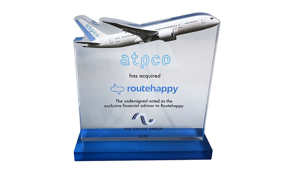Airplane-Themed Crystal Deal Toy