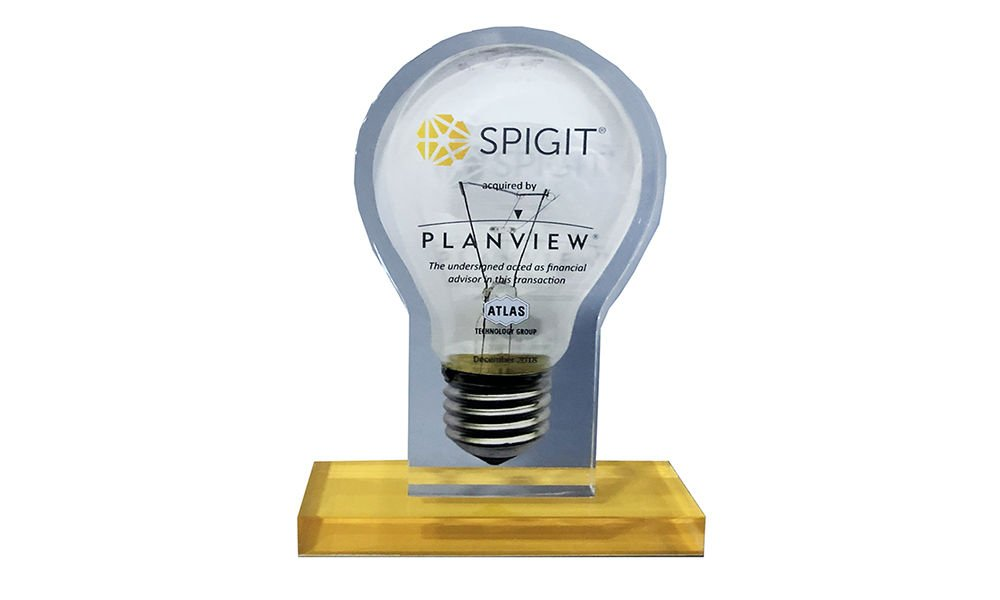 Light Bulb-Themed Financial Tombstone