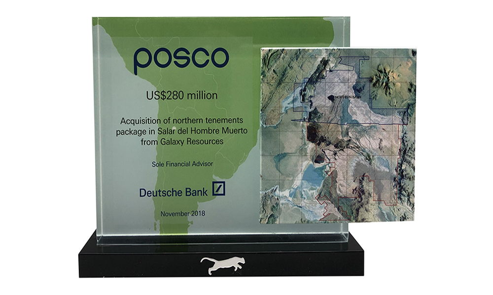 Lithium Mining Rights Deal Toy