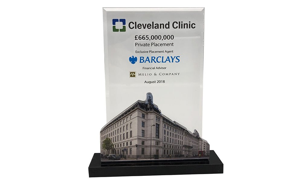 Hospital Private Placement Tombstone