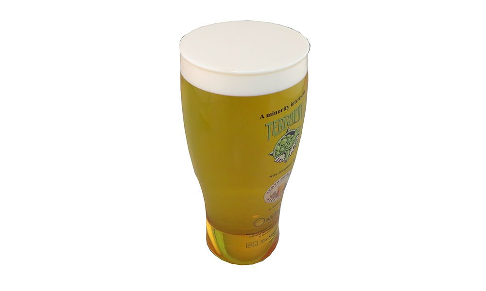 Beer Glass-Themed Lucite Deal Toy