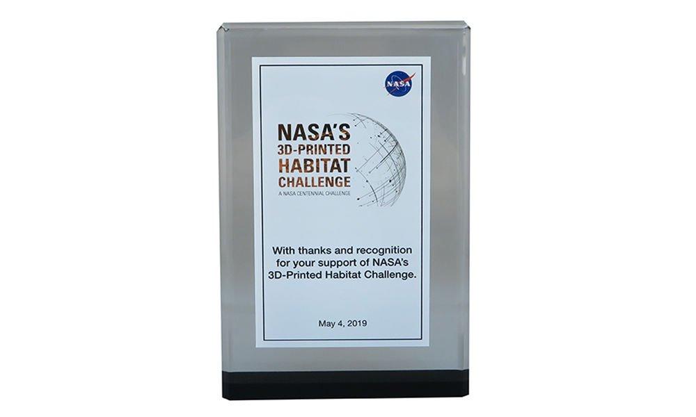 Custom Commemorative for NASA Event