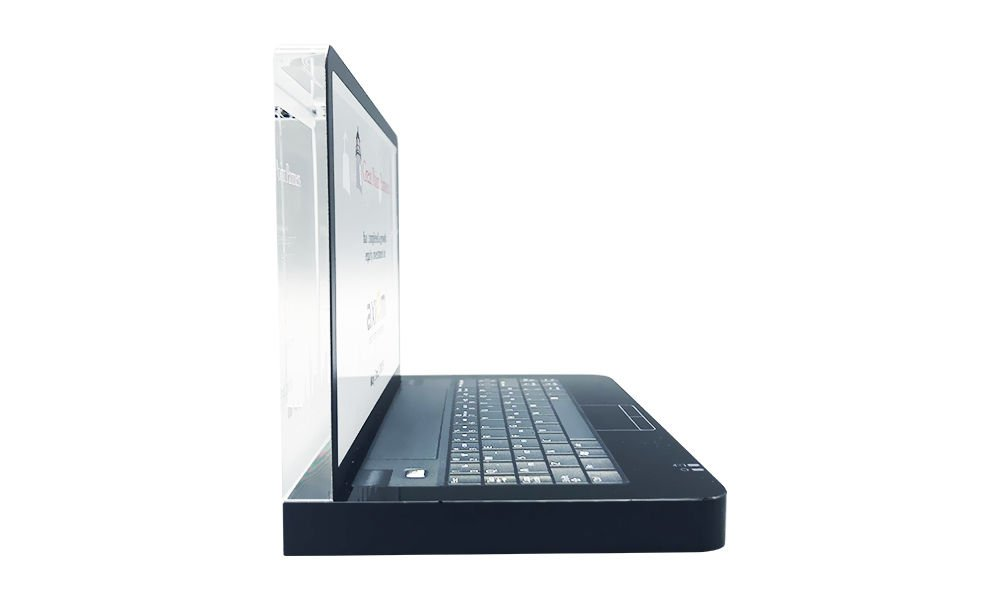 Laptop-Themed Crystal Deal Toy
