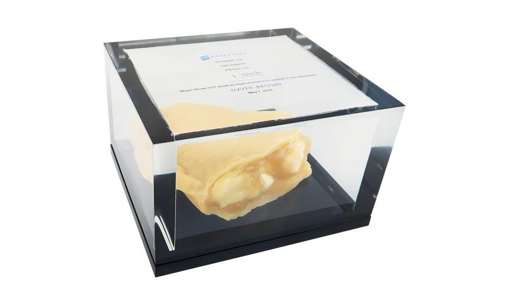 Deal Tombstone with Custom Plexi Box