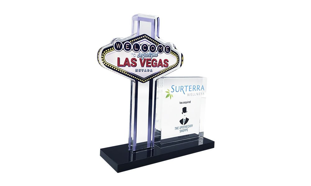 Las Vegas Sign-Themed Deal Toy