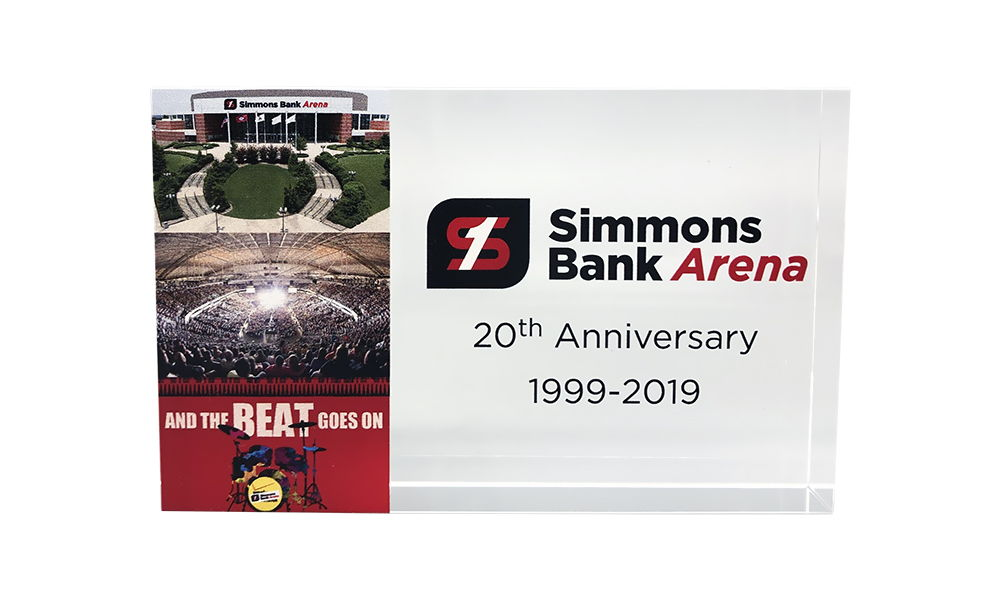 Sports/Entertainment Arena Anniversary Commemorative