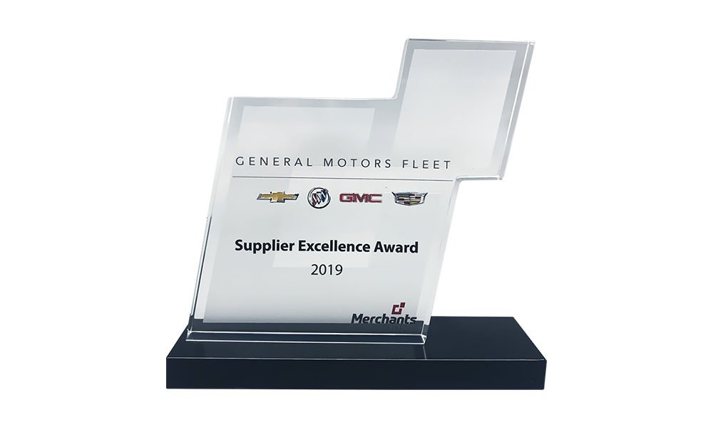 General Motors Recognition Award