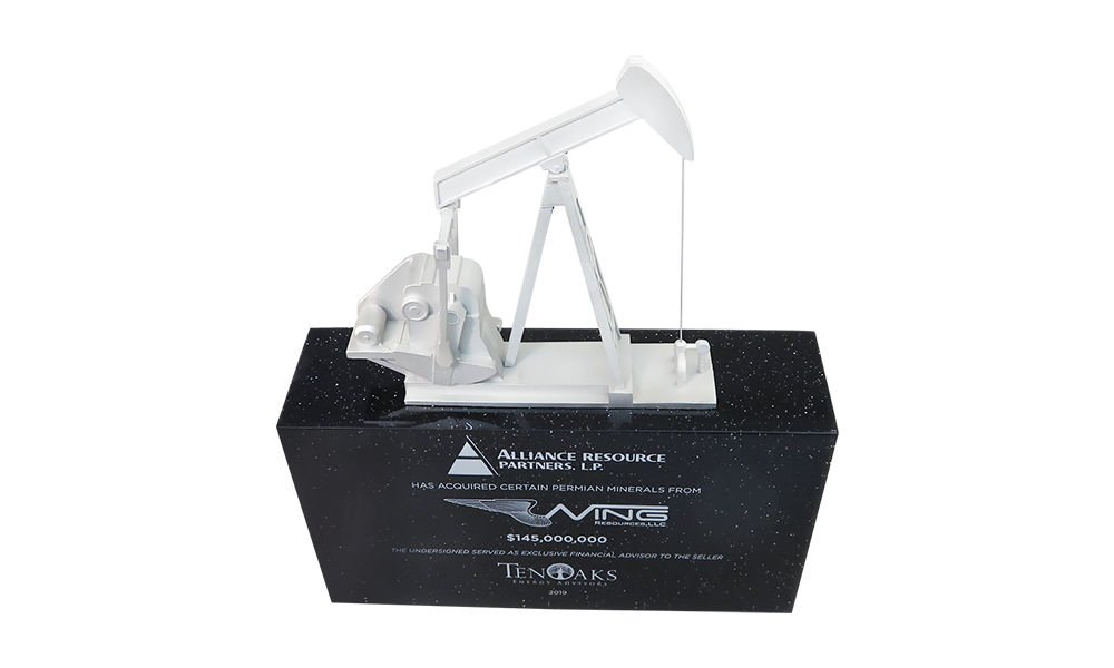 Oil Pumpjack-Themed Deal Toy