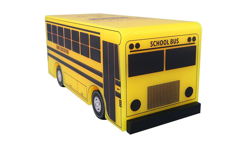 School Bus-Themed Deal Tombstone