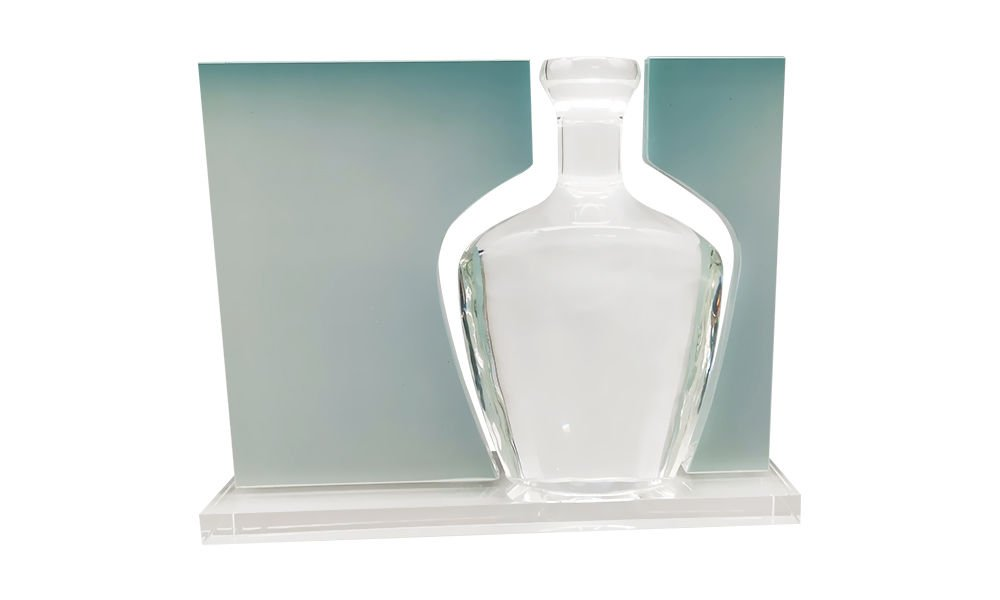 Glass Packaging-Themed Deal Toy (Back View)