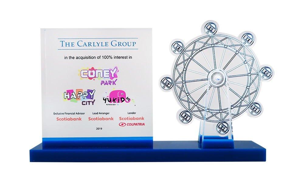 Ferris Wheel-Themed Deal Toy